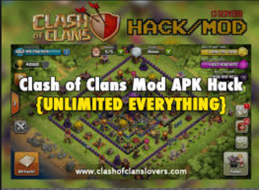 Clash Of Clans Mod APK Latest V 10.322.4 Free Download For Android